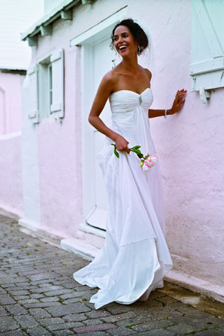 Destination Weddings A Warm Weather Wedding Dress