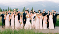 A Trendy Vail Wedding