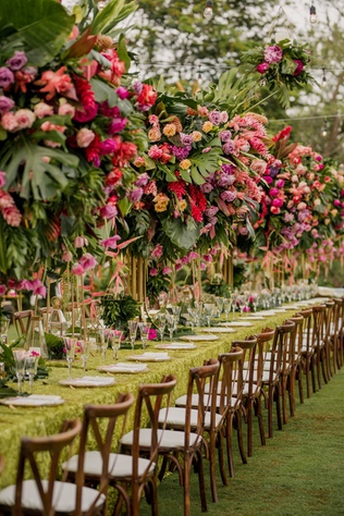 How to Create a Floral Fantasy