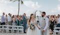 Perfectly Imperfect Bahamas Wedding