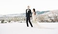 Colorado Winter Real Wedding
