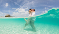 Photos That Will Inspire You to Trash the Dress in Turks and Caicos
