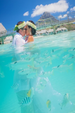 Destination weddings wedding bells in bora bora more photos junglespirit Choice Image