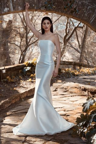 Sleek and Simple Gown