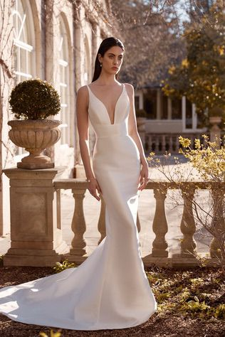 Simple and Sophisticated Gown