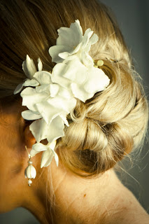Side Bun with Flowers, Photography