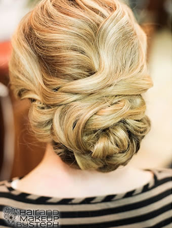 Braided Updo, Hair & Makeup