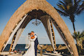 A Cancun Gazebo Wedding