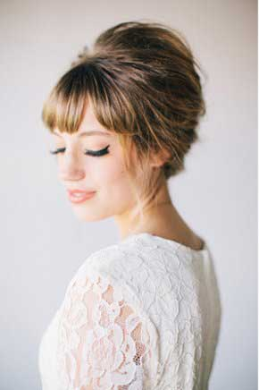 Beautiful Bouffant, Makeup and Hair